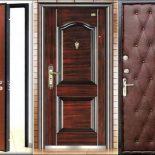 Особенности отделки входной двери